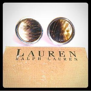 ♦️FREEwPurch❣ NWT VTG Ralph Lauren Shell Clip-On's